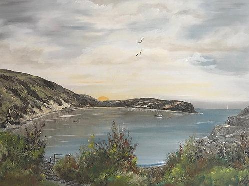 Lulworth Cove at Sunrise