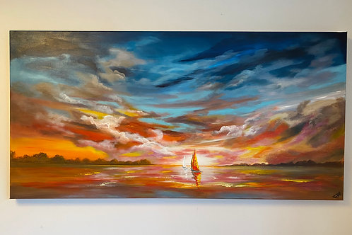 Morning Light. 120x60x4 cm