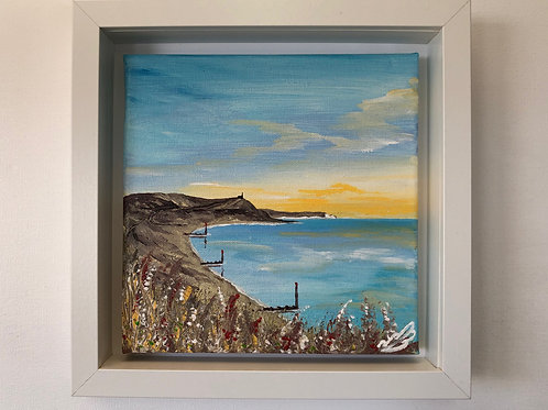 Sold/Hengistbury Head under a Golden Sunrise