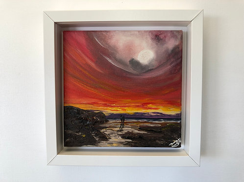 Sold/Red Sky and a Full Moon