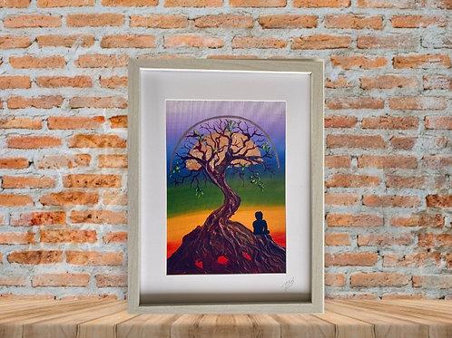 Tree of Life A4 Print