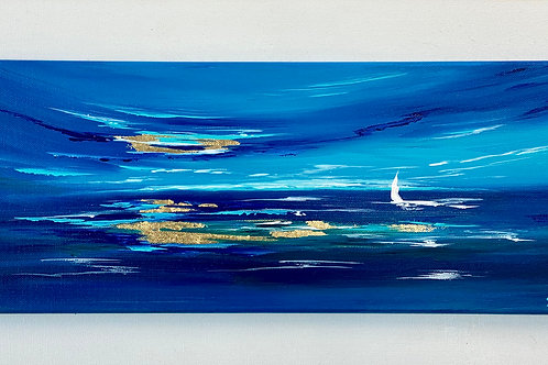 Sold/Moody Blues Series Nr 1- 50x20cm