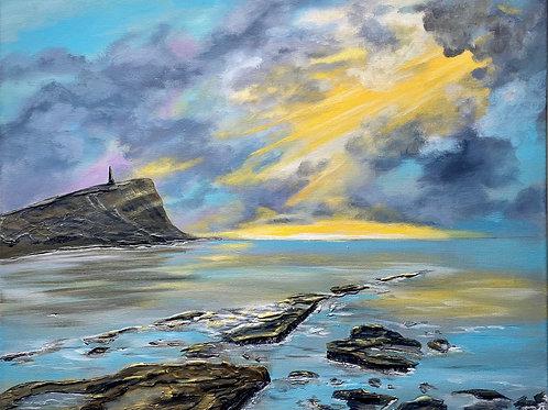 Kimmeridge Bay 60x50 cm