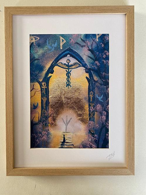 Physical and Spiritual Healing A4 Print