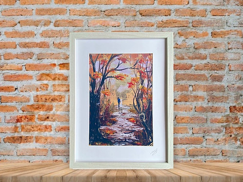 Framed Print of Love in the Woods