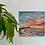Thumbnail: Colourful Sunrise over Hengistbury Head 20x20cm