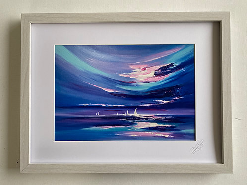 Framed Print of Three O'clock in the Morning