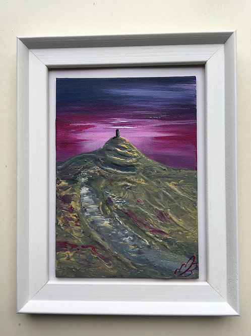 Glastonbury Tor Framed