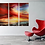 Thumbnail: Sold/Red Sunset as a Triptych