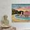 Thumbnail: Print of Durdle Door Golden Sunset 20x20cm