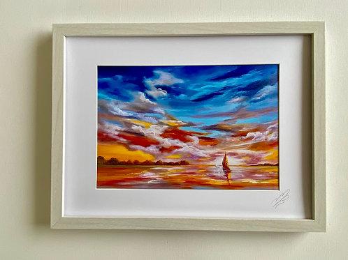 Framed Print of Morning Light