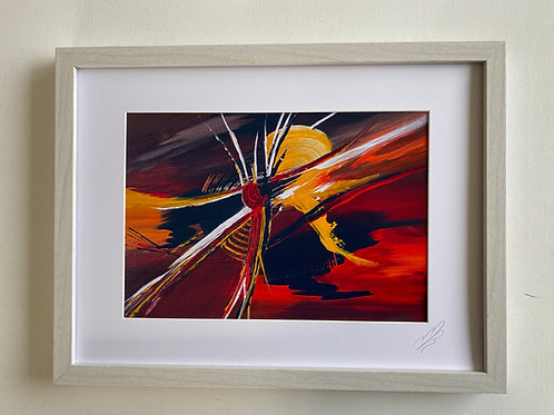 Framed Print called 'Rebirth'