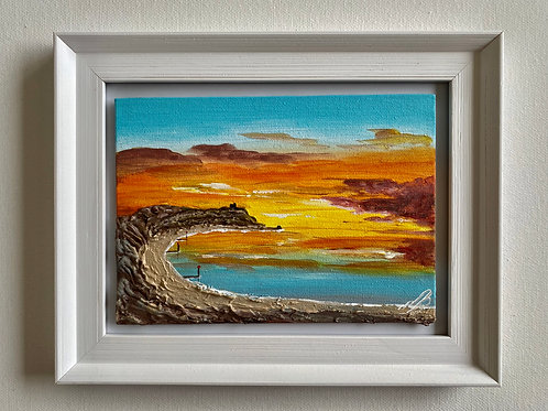Hengistbury Head. Canvas 7'x5'