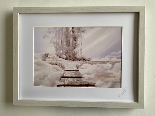 Framed Print of Staircase to Heaven