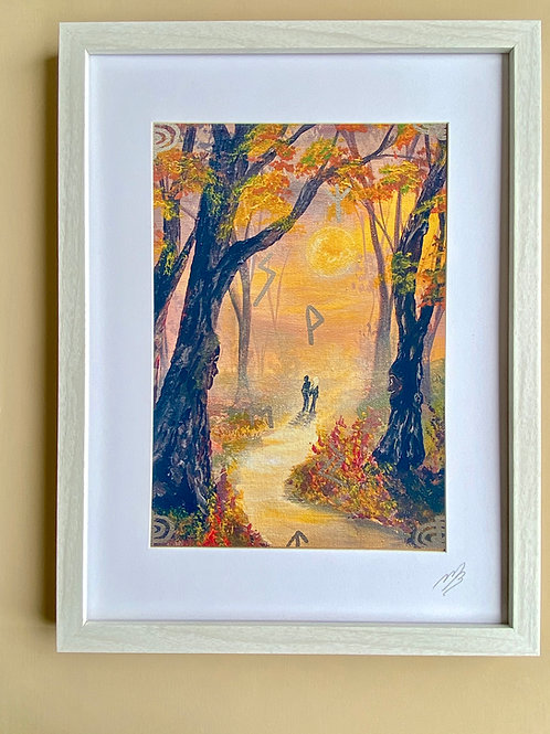 Framed Print of Tree Spirits Dream