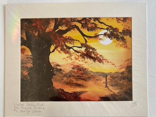 Print - Tree at the Cross Road. 20'x16'