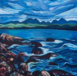 The Torridons from Carn Dearg, Scotland