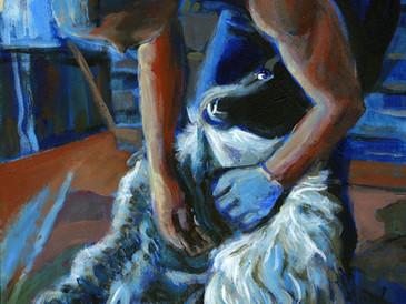 """""""Kieran at the Shearing"""""""