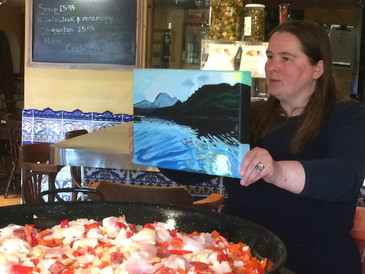 Paella and Paintings!