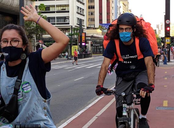 Bicicletada pela legalização
