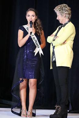 Danièle Gilbert Léa LLorens Miss Elégance France 2020