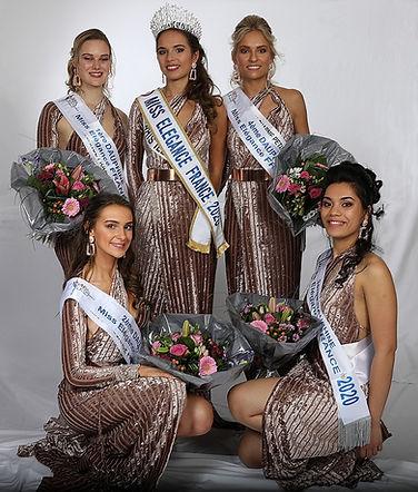 Podium Miss Elégance France 2020