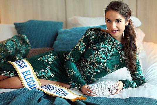 Léa LLorens Miss Elégance France 2020
