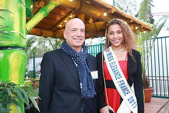 Miss Elégance France et Louis Bodin