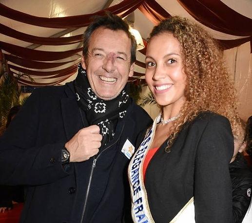 Miss Elégance France et Jean Luc Reichmann