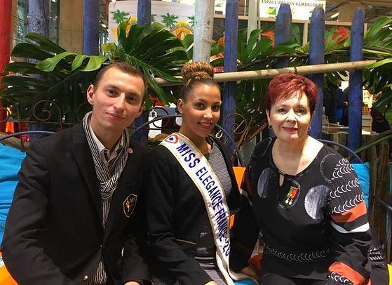 Miss Elégance France et Fabienne Tibeault, eddy lefaux