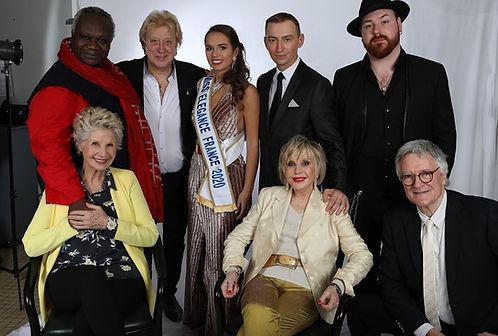 Miss Elégance France et sophie Darel Magloire, Daniele gilbert
