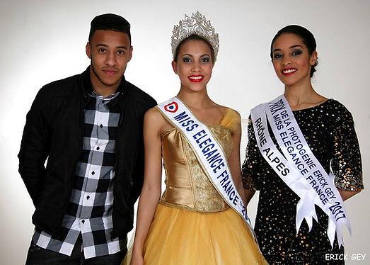 Miss Elégance France et Corentin Tolisso