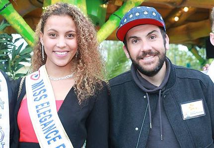 Miss Elégance France et Laurent Ournac