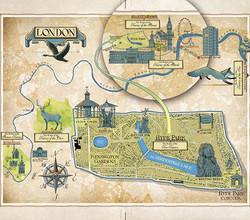Iacopo Bruno's beautiful map