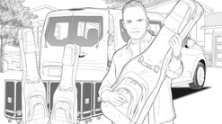 Pencilled Storyboards Sample