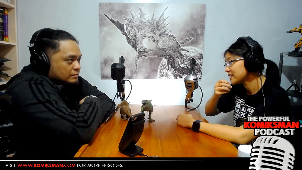 Episode #24 with Dr. Reina Reyes caps off the first season of The Powerful Komiksman Podcast.