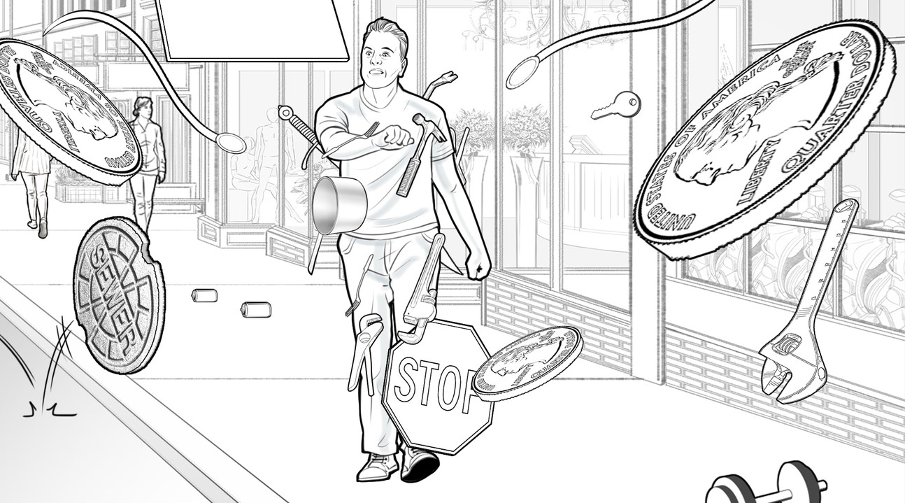 Pencilled Storyboards Sample