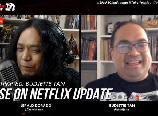 TRESE on Netflix Updates! |Budjette Tan Spills It All on Podcast