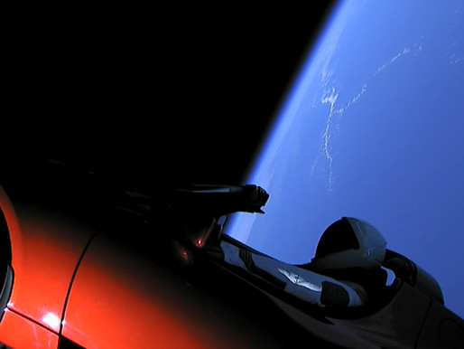 Elon Musk Has Literally Put a Tesla Roadster on a Journey To Mars —in Space!