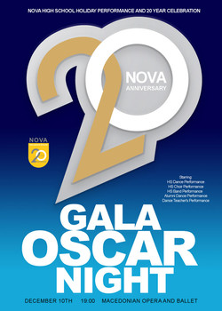 NOVA International schools poster