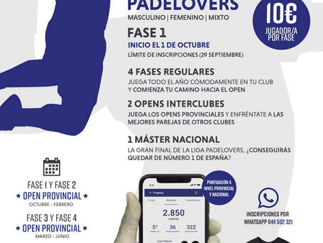 LIGA PADEL LOVERS