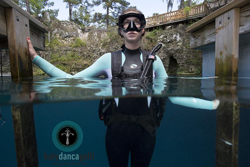 Scuba Diving BC test
