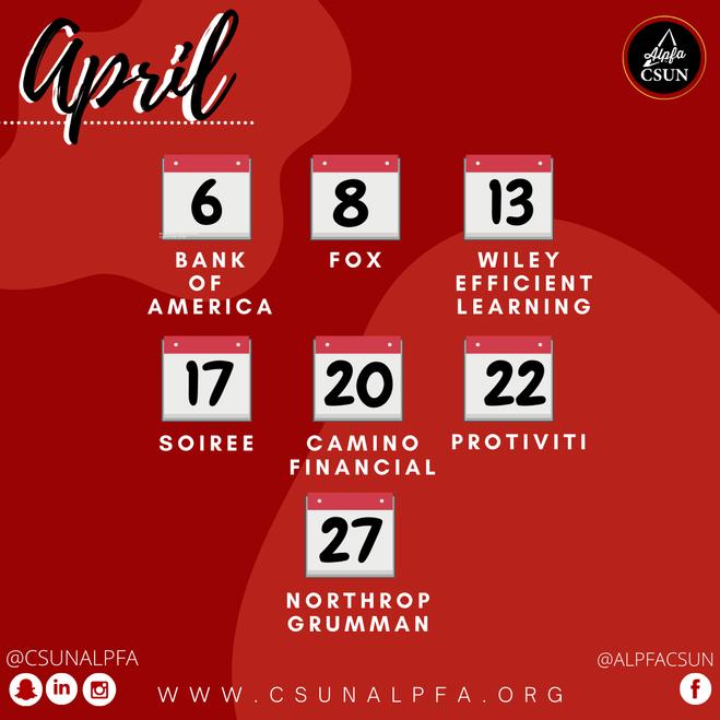 April Meetings