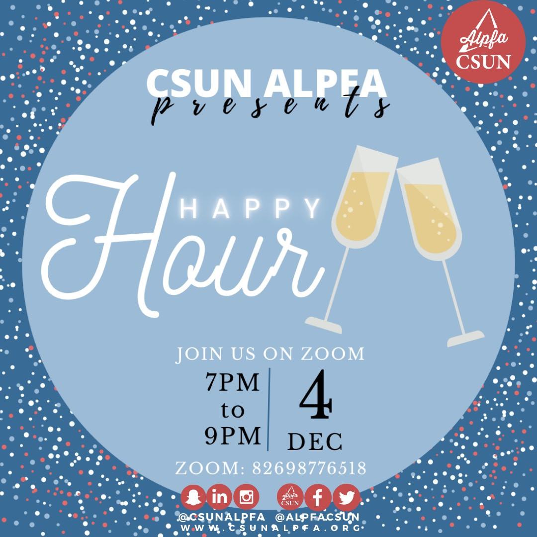 ALPFA Happy Hour