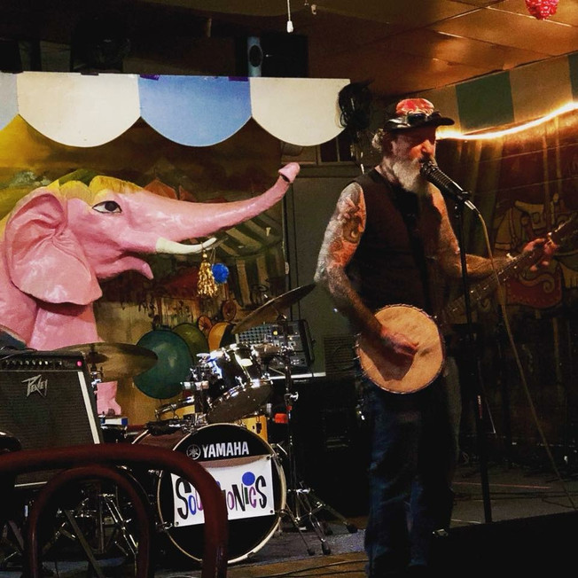 J.D. Pinkus at Carousel Lounge