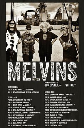Melvins 2018 Tour