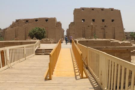 Accessible Tourism: Karnak Temple & Luxor Museum -  Vodafone Egypt, 2018
