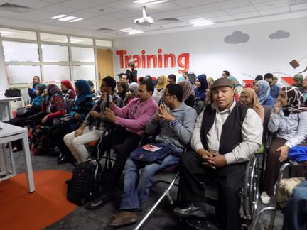 Training for Employment - Vodafone Egypt, 2016 – 2017