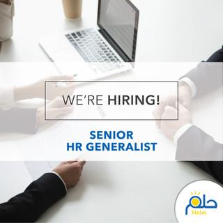 Call for an HR Generalist