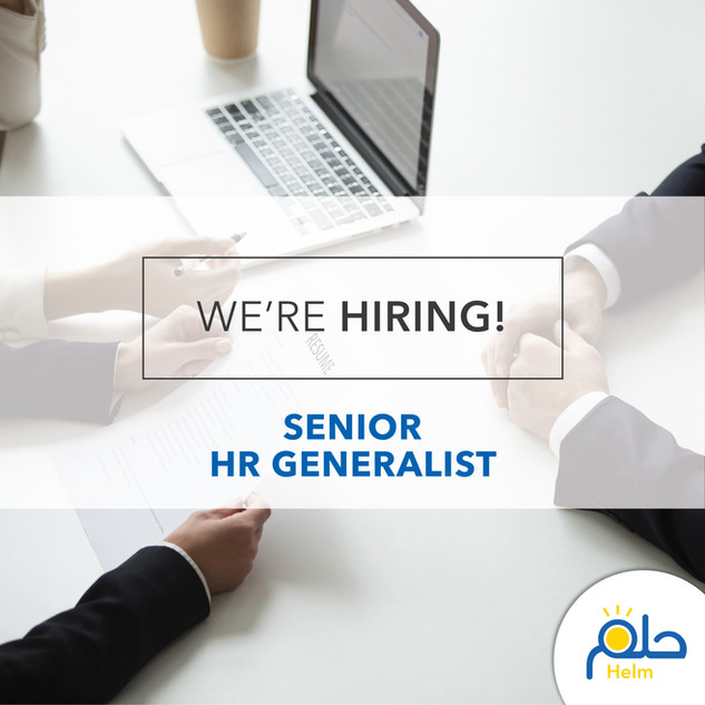 Call for an HR Generalist
